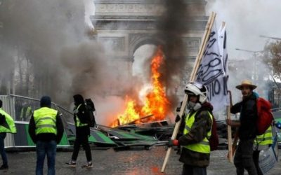 French President Macron Backs Down On Carbon Tax On Fuel